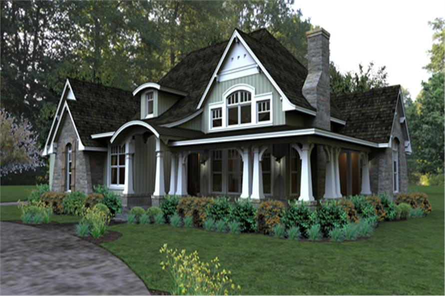 117 1106 Home Plan Rendering