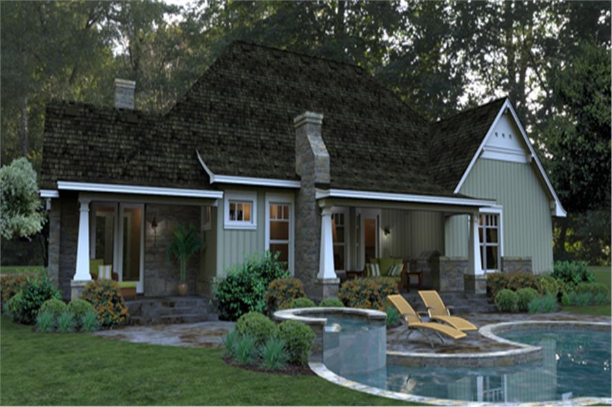 117-1106: Home Plan Rendering