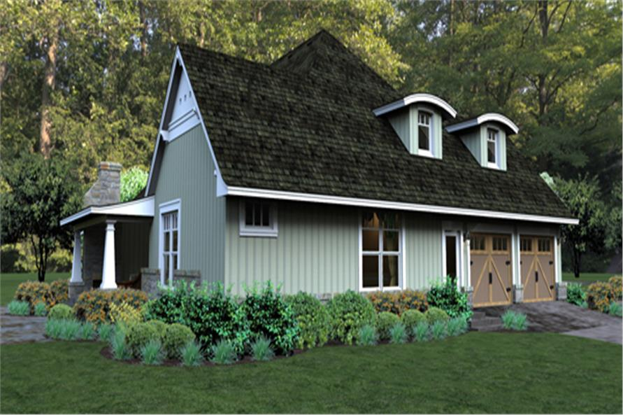 Home Plan Rendering of this 3-Bedroom,2267 Sq Ft Plan -117-1106
