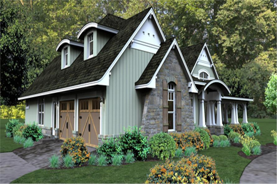 Home Plan Rendering of this 3-Bedroom,2267 Sq Ft Plan -2267
