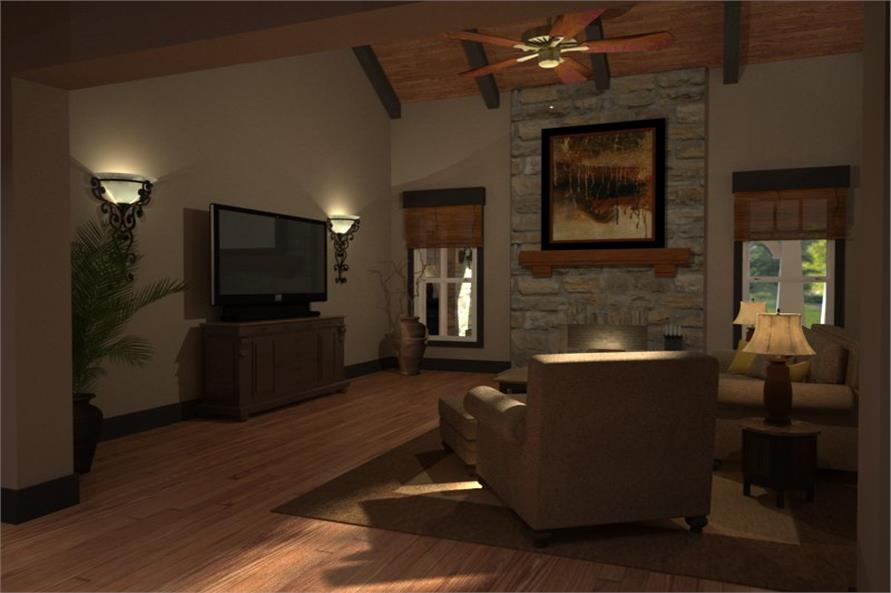 117-1106: Home Interior Photograph-Family Room