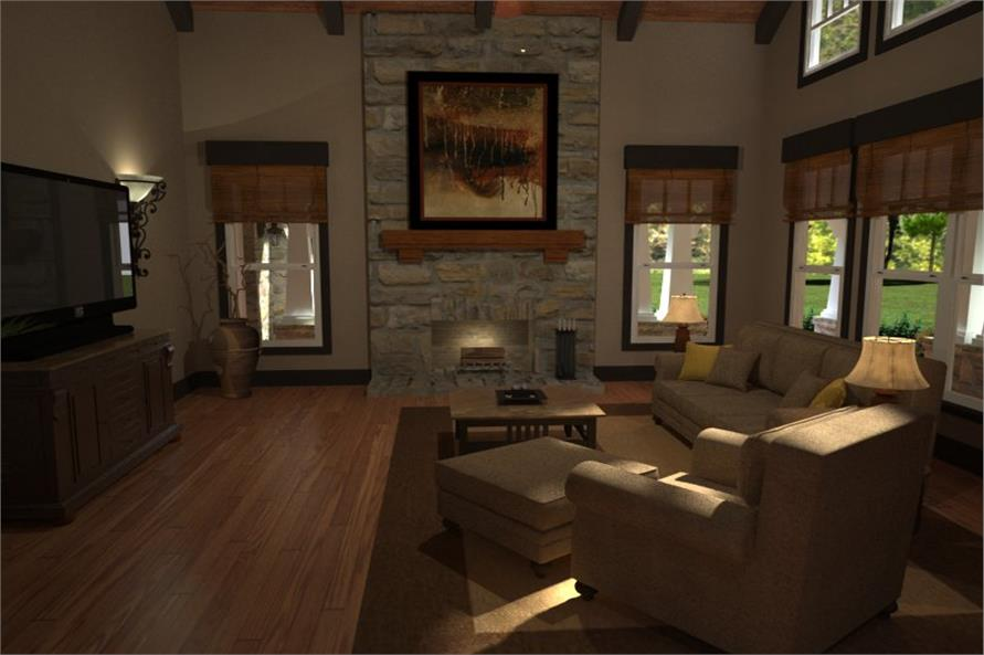 Family Room of this 3-Bedroom,2267 Sq Ft Plan -2267