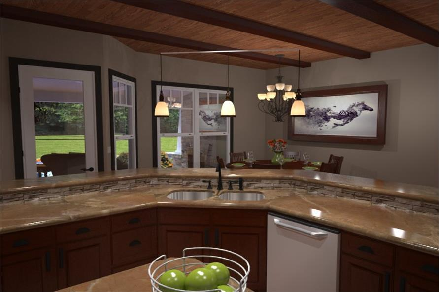 Kitchen of this 3-Bedroom,2267 Sq Ft Plan -2267