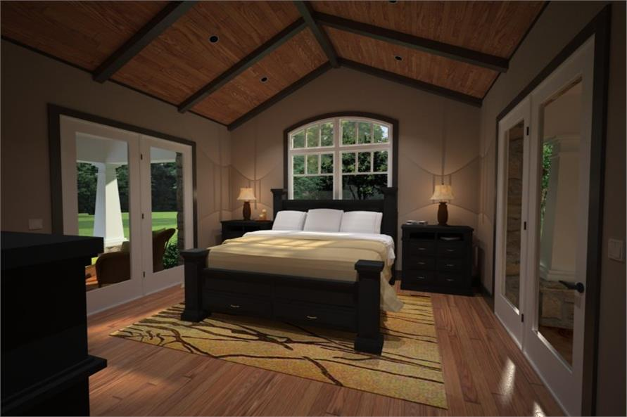 Master Bedroom of this 3-Bedroom,2267 Sq Ft Plan -2267