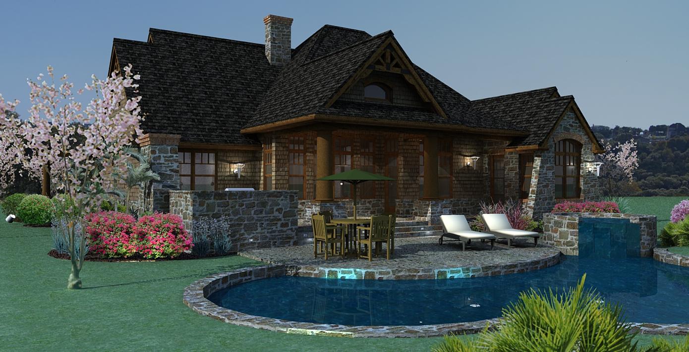 3 Bedroom 2 Bath 1 Story House Plans