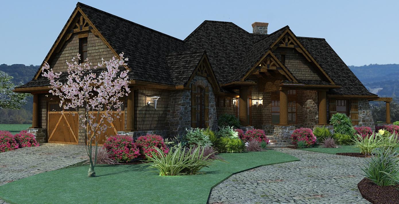 3 Bedrm 1848 Sq Ft Ranch House Plan 117 1107