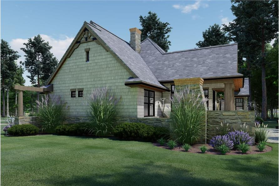 Right View of this 3-Bedroom,1848 Sq Ft Plan -117-1107