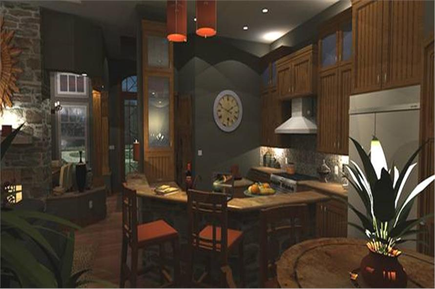 Kitchen of this 3-Bedroom,2106 Sq Ft Plan -2106