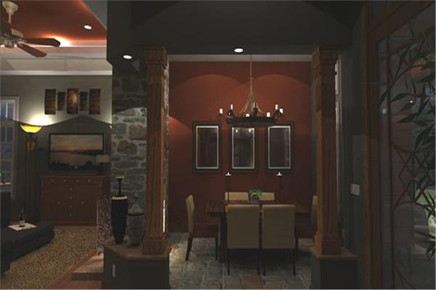 Dining Room of this 3-Bedroom,2106 Sq Ft Plan -2106