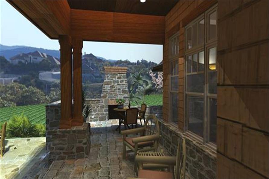 117-1108: Home Exterior Photograph-Porch