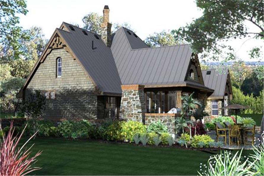 117-1108: Home Plan Rendering