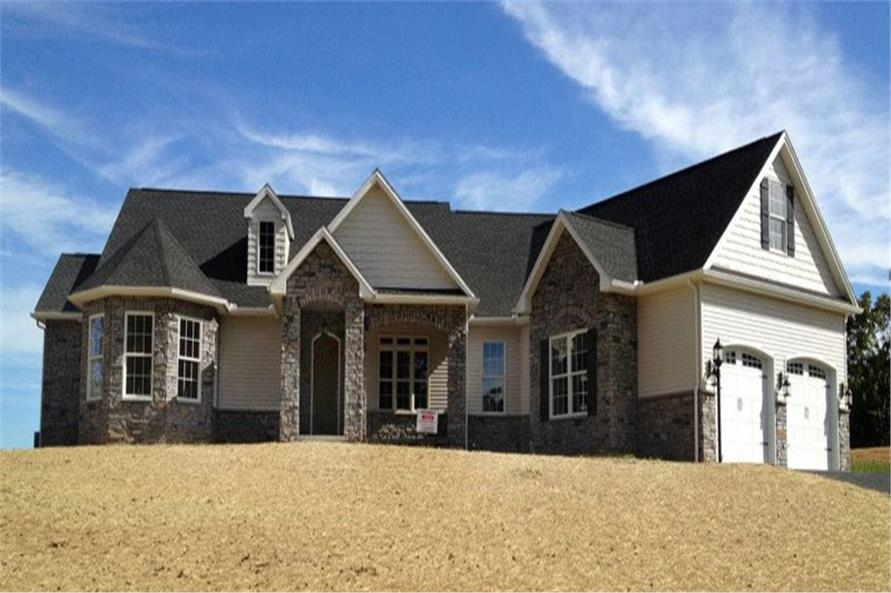 Home Exterior Photograph of this 3-Bedroom,2595 Sq Ft Plan -117-1109