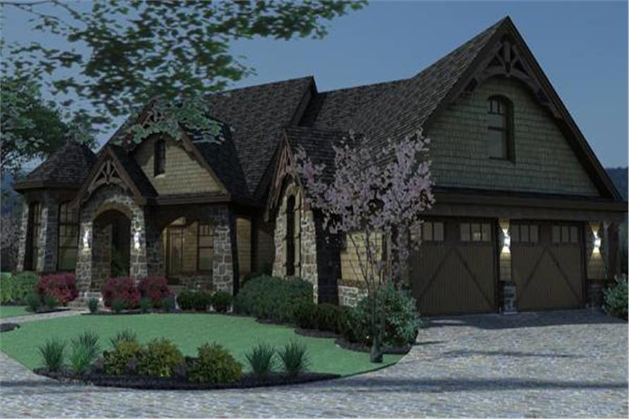 117-1109: Home Plan Rendering