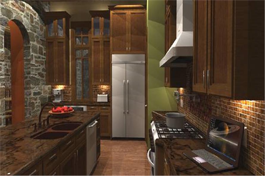 117-1110: Home Interior Photograph-Kitchen