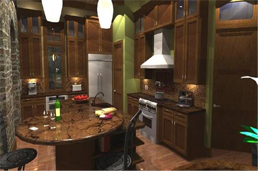 Kitchen: Breakfast Nook of this 4-Bedroom,3349 Sq Ft Plan -117-1110