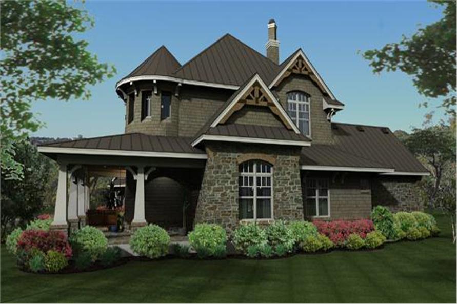 117-1110: Home Plan Rendering