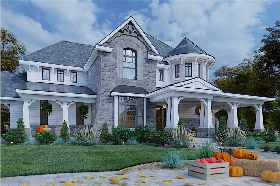 Home at Holidays of this 4-Bedroom,3349 Sq Ft Plan -117-1110