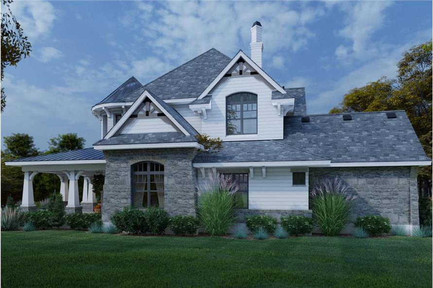 Right View of this 4-Bedroom,3349 Sq Ft Plan -117-1110