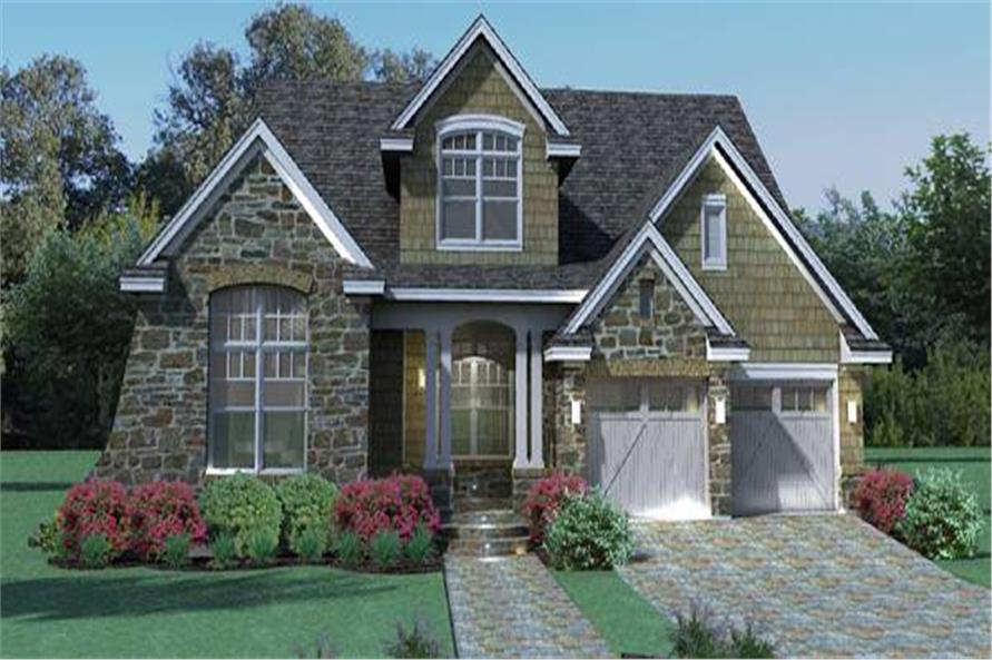 117-1111: Home Plan Rendering