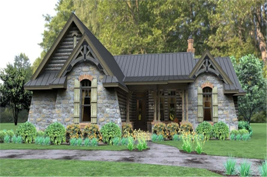 3-Bedroom, 2234 Sq Ft Ranch House Plan - 117-1112 - Front Exterior