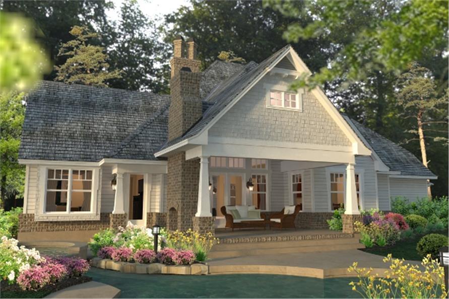 117-1113: Home Plan Rendering