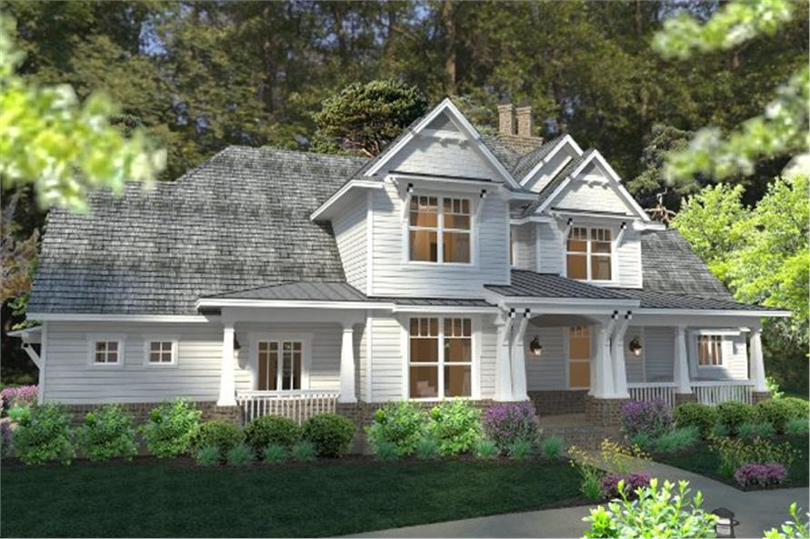 Home Plan Rendering of this 3-Bedroom,2575 Sq Ft Plan -2575
