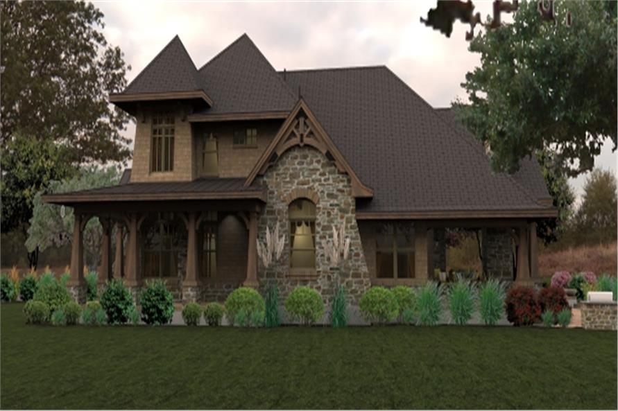 Home Plan Rendering of this 4-Bedroom,3069 Sq Ft Plan -3069