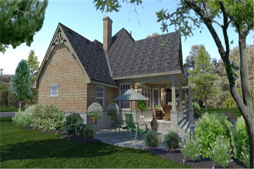 117-1116: Home Plan Rendering