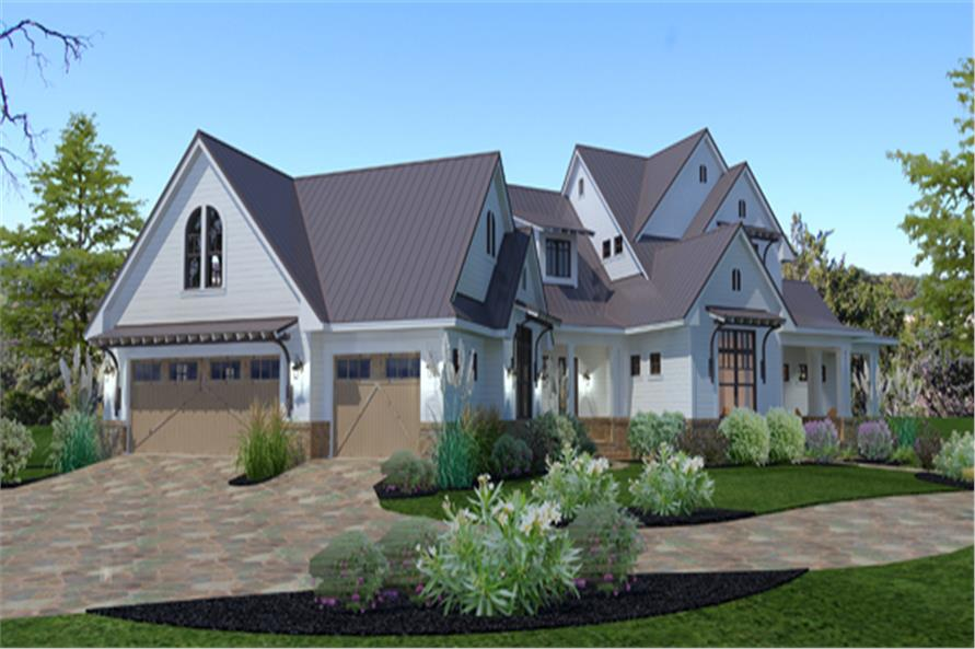 117-1117: Home Plan Rendering