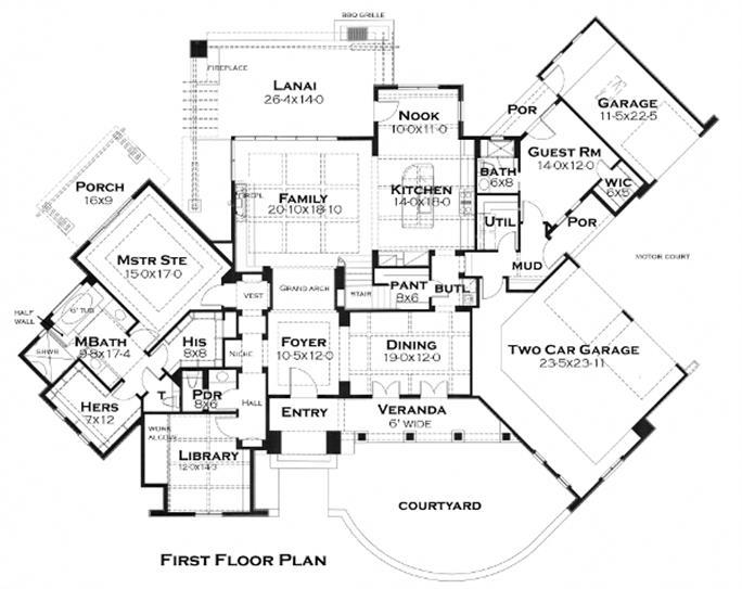 Cottage House Plan 1171118 3 Bedrm 3230 Sq Ft Home
