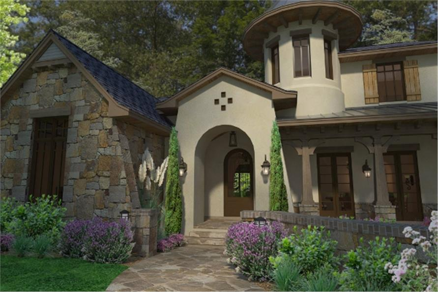 117-1118: Home Plan Rendering