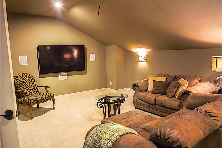 Media Room of this 3-Bedroom,3230 Sq Ft Plan -3230