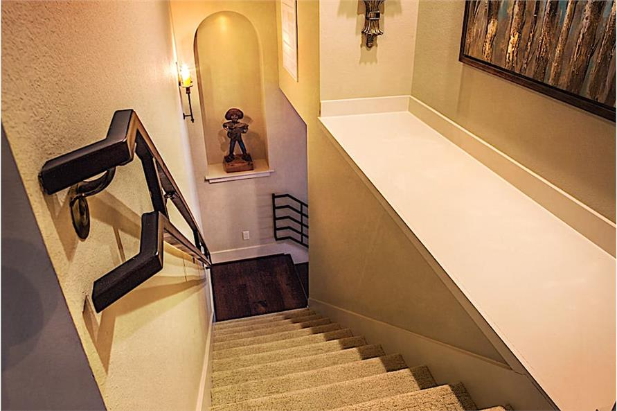 Stairs of this 3-Bedroom,3230 Sq Ft Plan -3230