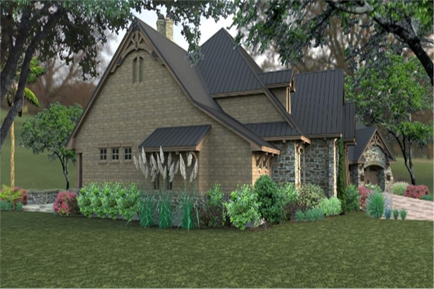 Home Plan Rendering of this 3-Bedroom,2466 Sq Ft Plan -2466