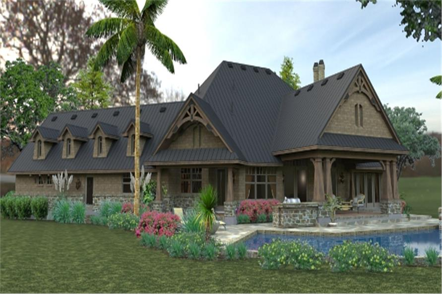 117-1119: Home Plan Rendering