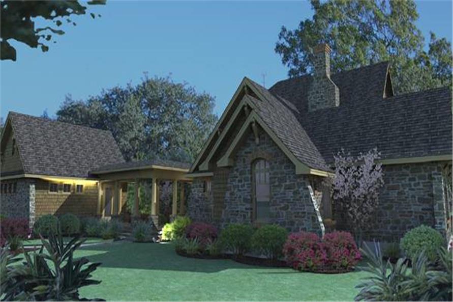 117-1120: Home Plan Rendering