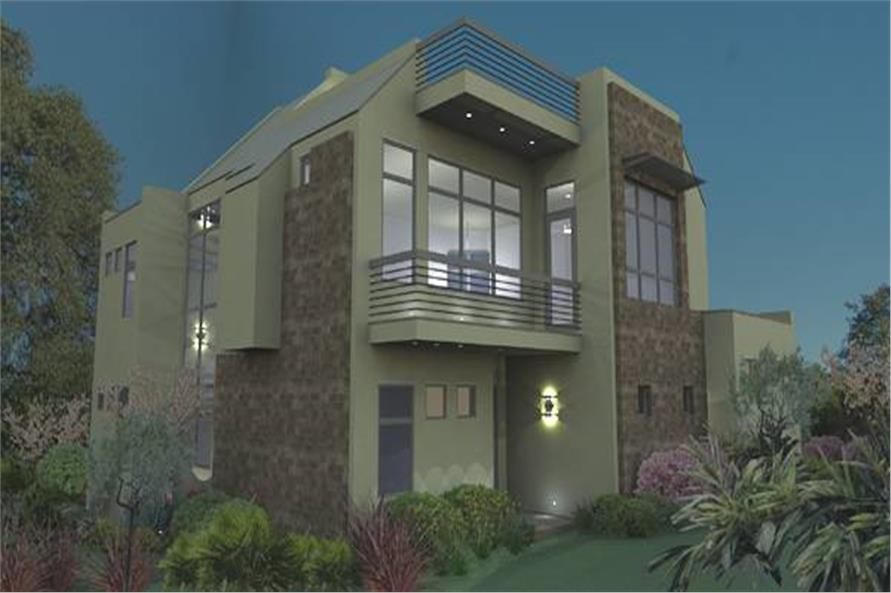 Home Plan Rendering of this 3-Bedroom,2562 Sq Ft Plan -117-1121