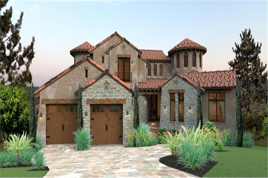 Mediterranean house plan 117 1122 4 bedrm 4373 sq ft for 3000 sq ft mediterranean house plans