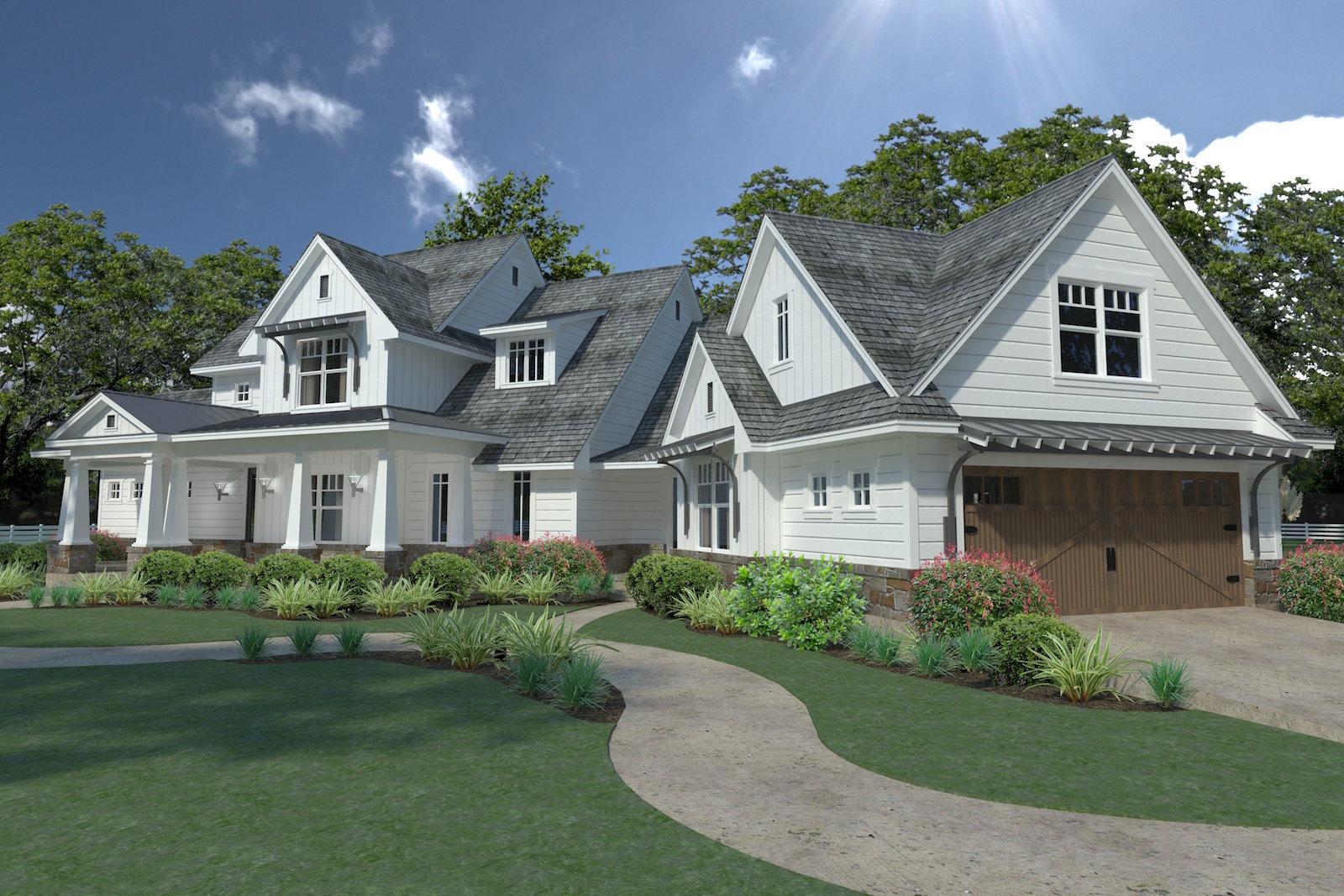 3 Bedrm, 2396 Sq Ft Farmhouse House Plan #117-1124