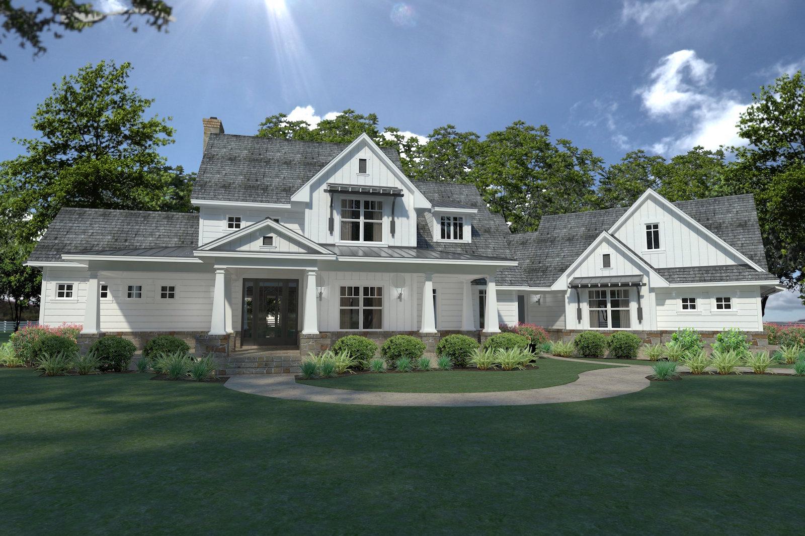 3 Bedrm 2396 Sq Ft Farmhouse House Plan 117 1124