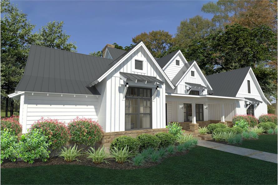 Home Plan Rendering of this 3-Bedroom,2393 Sq Ft Plan -2393