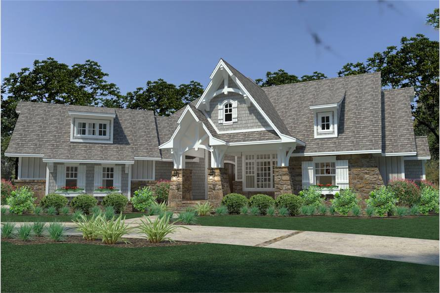Front View of this 3-Bedroom,2662 Sq Ft Plan -2662
