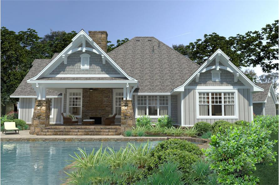 Home Plan Rendering of this 3-Bedroom,2662 Sq Ft Plan -2662