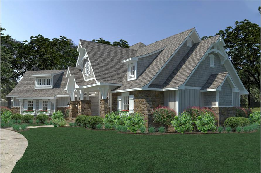 Right View of this 3-Bedroom,2662 Sq Ft Plan -2662