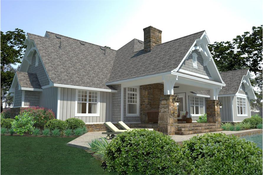 Side View of this 3-Bedroom,2662 Sq Ft Plan -2662