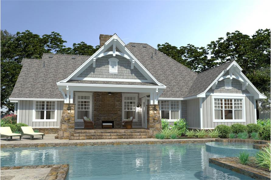 Pool of this 3-Bedroom,2662 Sq Ft Plan -2662