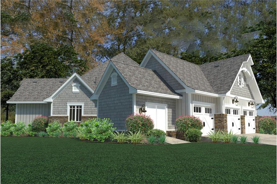 Left View of this 3-Bedroom,2662 Sq Ft Plan -2662