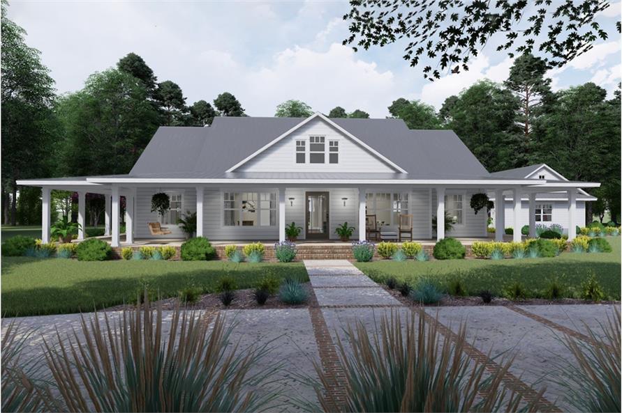 Home Plan Rendering of this 3-Bedroom,2748 Sq Ft Plan -2748