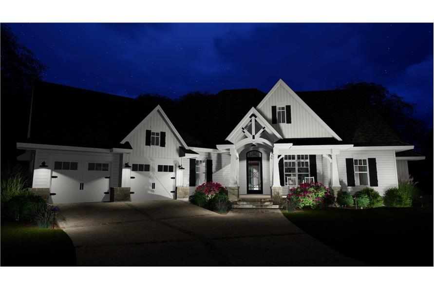 Home at Night of this 3-Bedroom,2504 Sq Ft Plan -2504