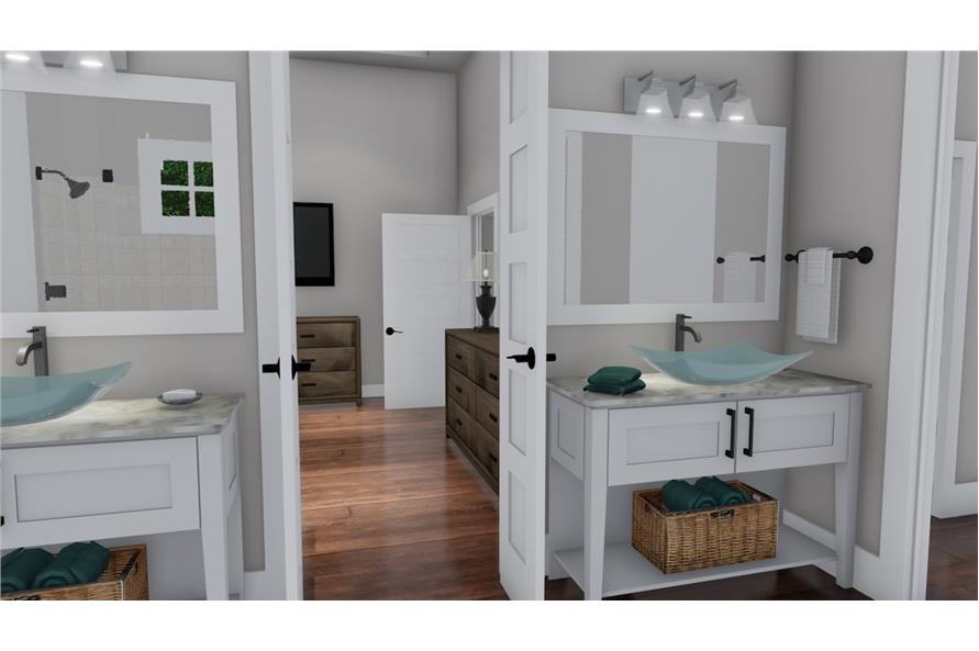 Master Bathroom of this 3-Bedroom,2504 Sq Ft Plan -2504